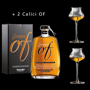 Details: Grappa OF Amarone Barrique Bonollo inkl. 2 Calici OF