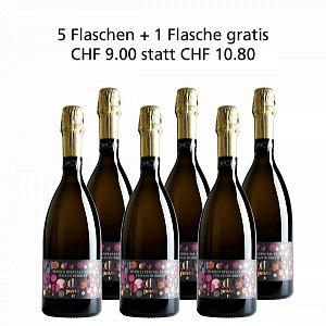 5 + 1 Fl. gratis Spumante Bianco Special Cuvée Extra Dry