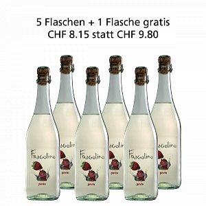 5 + 1 Fl. gratis Fragolino Bianco