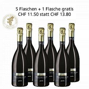 Details: 5 + 1 Fl. gratis Prosecco DOC Treviso Spumante Extra Dry