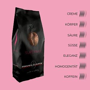 Bohnenkaffee Superbar - Pavin Caffè