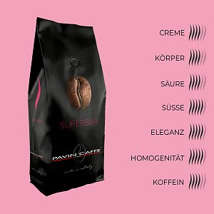 Details: Bohnenkaffee Superbar - Pavin Caffè