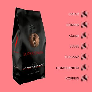 Bohnenkaffee Super Swiss - Pavin Caffè
