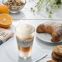 Milchkaffee Glas Pavin Caffè