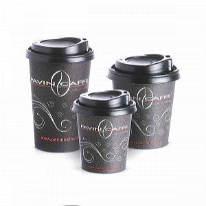 Kartonbecher Milchkaffee/Cappuccino